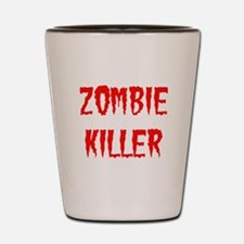 Zombie Killer Shot Glass