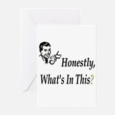 Honestly, What's In This? Greeting Cards (Package