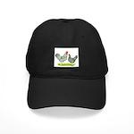 Barred Hollands Black Cap