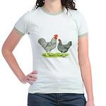Barred Hollands Jr. Ringer T-Shirt