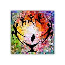 """Unique Unitarian universalist Square Sticker 3"""" x 3"""""""