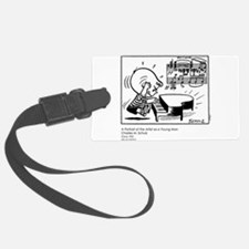 Young Man Luggage Tag