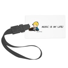 Music is My Life Luggage Tag
