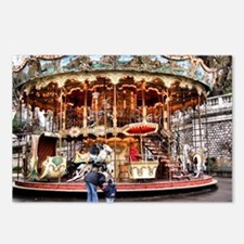 Carousel in Montmartre Postcards (Package of 8)