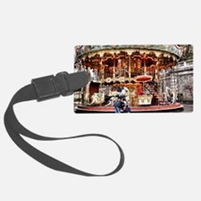 Carousel in Montmartre Luggage Tag