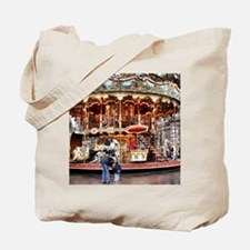 Carousel in Montmartre Tote Bag