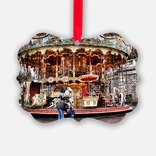 Carousel in Montmartre Ornament