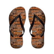 Brick Wall Flip Flops