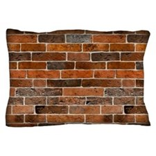 Brick Wall Pillow Case