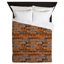 Brick Wall Queen Duvet