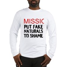 Mission: Put Fake Naturals To Shame Long Sleeve T-