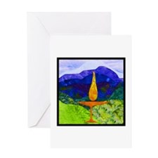 Mountain Chalice Greeting Cards