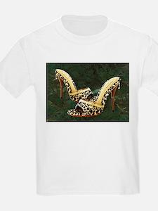 Electric Slide in Leopard T-Shirt