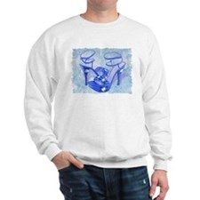 Big Blue Bling Sweatshirt