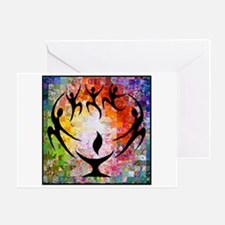 Dancer Chalice Greeting Cards