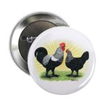 Iowa Blue Chickens Button