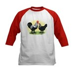 Iowa Blue Chickens Kids Baseball Jersey