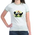 Iowa Blue Chickens Jr. Ringer T-Shirt