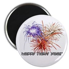 "Happy New Year 2.25"" Magnet (10 pack)"