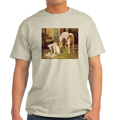 Borzoi Ash Grey T-Shirt