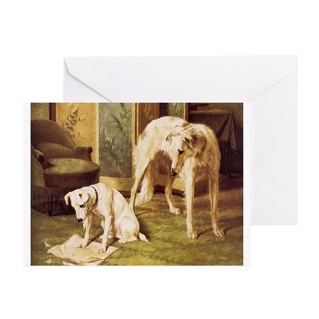 Borzoi Greeting Cards (Pk of 10)