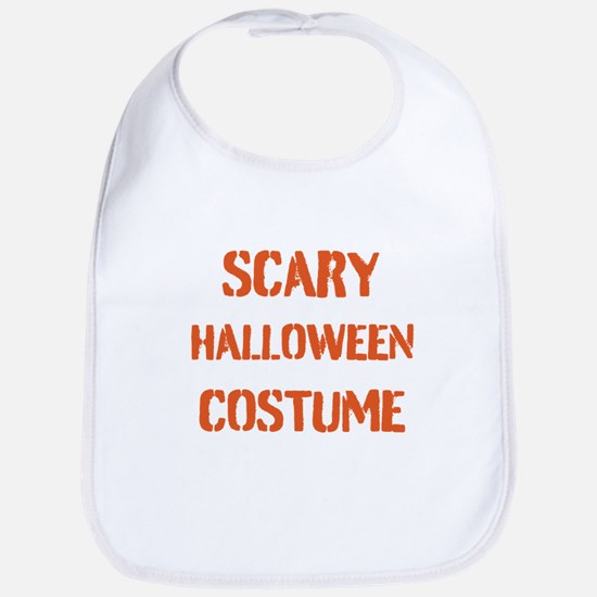 Scary Halloween Costume Bib