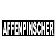Affenpinscher Breed Bumper Bumper Sticker