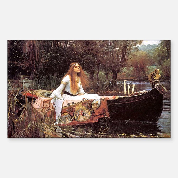 Lady of Shalott Decal
