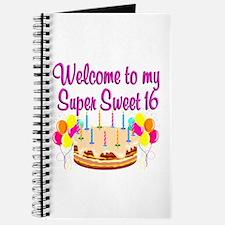 SUPER SWEET 16 Journal