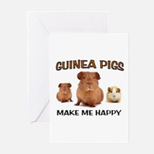 HAPPY PIGS Greeting Cards