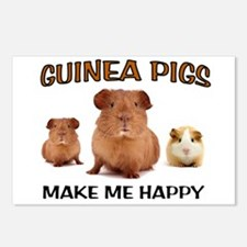 HAPPY PIGS Postcards (Package of 8)