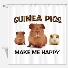 HAPPY PIGS Shower Curtain