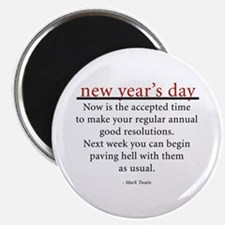 """New Year's Day 2.25"""" Magnet (100 pack)"""