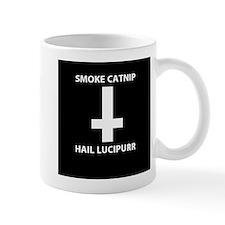 Smoke Catnip Hail Lucipurr Mugs