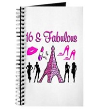 GLAMOROUS 16TH Journal