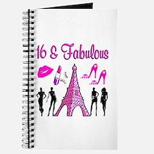 GLAMOROUS 16TH Journal