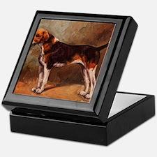 English Foxhound Keepsake Box
