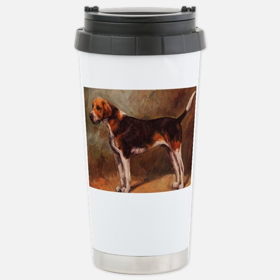 English Foxhound Stainless Steel Travel Mug