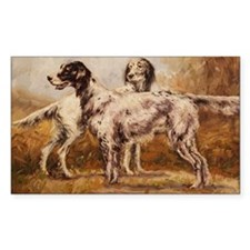English Setters Decal