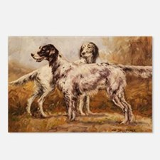 English Setters Postcards (Package of 8)