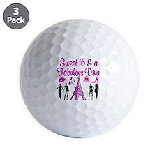 TERRIFIC 16TH Golf Ball