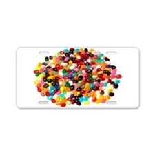 Jellybeans Aluminum License Plate