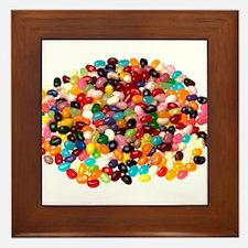 Jellybeans Framed Tile