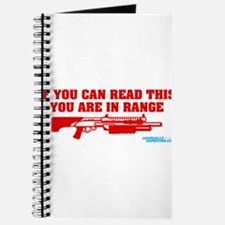 If You Can Read This You Are In Range Journal