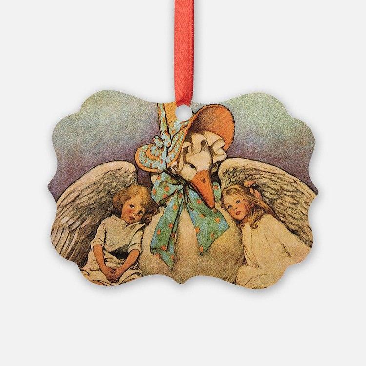 Vintage Mother Goose Ornament