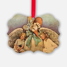 Vintage Mother Goose Picture Ornament