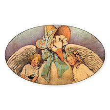 Vintage Mother Goose Decal
