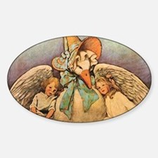 Vintage Mother Goose Decal