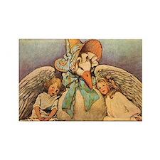 Vintage Mother Goose Rectangle Magnet