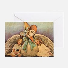 Vintage Mother Goose Greeting Card